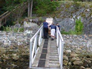 82 Steps up to Eagle Island Home